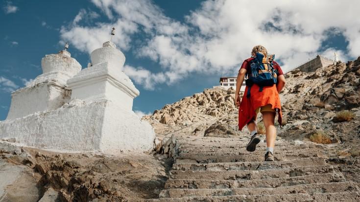 go on a trekking in Ladakh