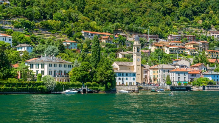Laglio is a n Italian commune in Lombardy and is 653 ft above sea level.