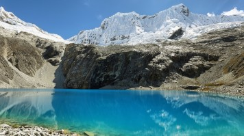 Laguna 69 is the most beautiful lake in the Huascaran National Park