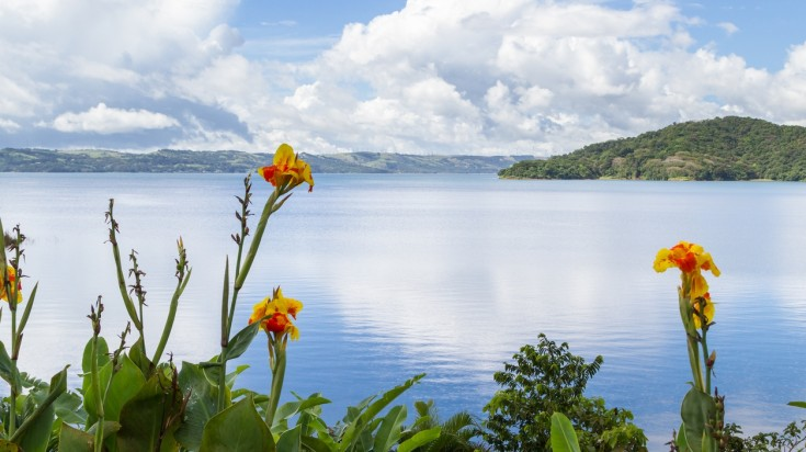 Lake Arenal in La Fortuna