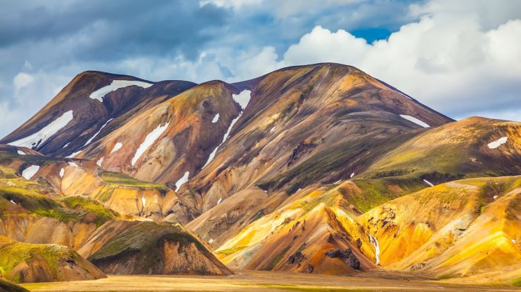 Landmannalaugar mountain area