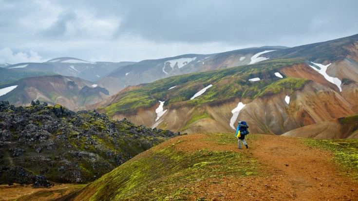 Landmannalaugar in Iceland is a trekkers paradise