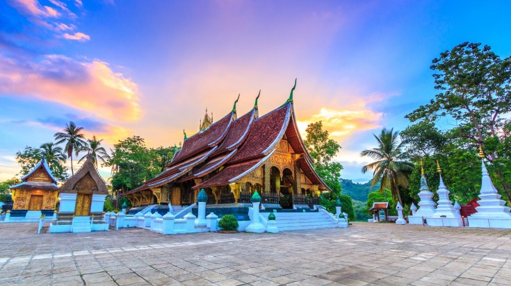 Visit the Golden City Temple in Luang Prabang