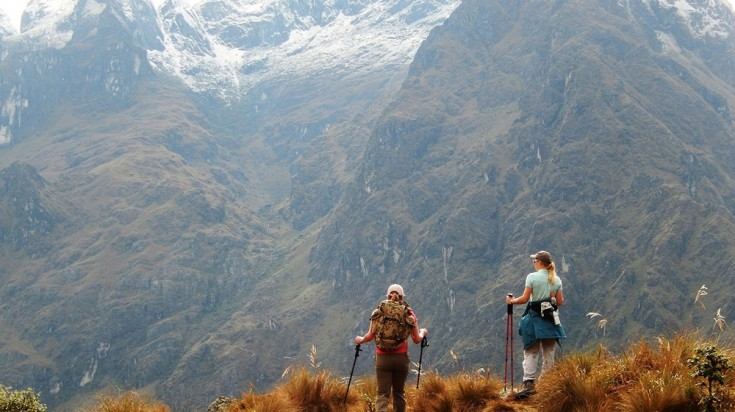 Lares trek vs. Inca Trail offer beautiful and rugged mountain scenery
