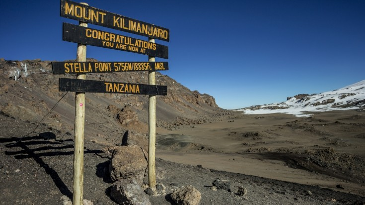 Stella Point, Mount Kilimanjaro National Park