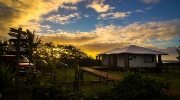 Sunsets in Lemu Lodge