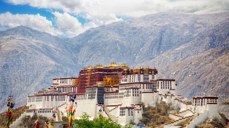 The center for Tibetan Buddhism, Lhasa, is the capital of Tibet.