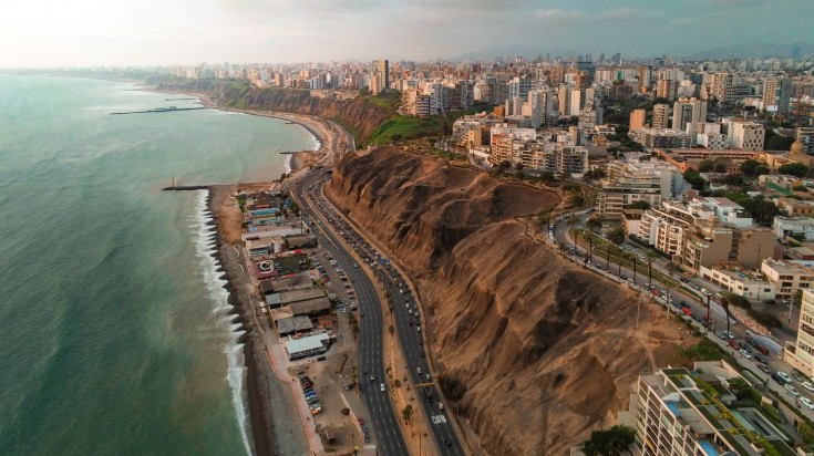 Lima, capital city and one of the best places to visit in Peru.