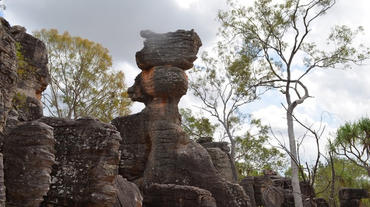 The Lost City is a huge gathering of natural rock formations