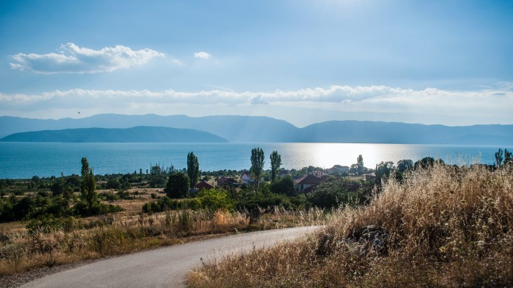 Lake Prespa is located on the tripoint of North Macedonia, Albania, and