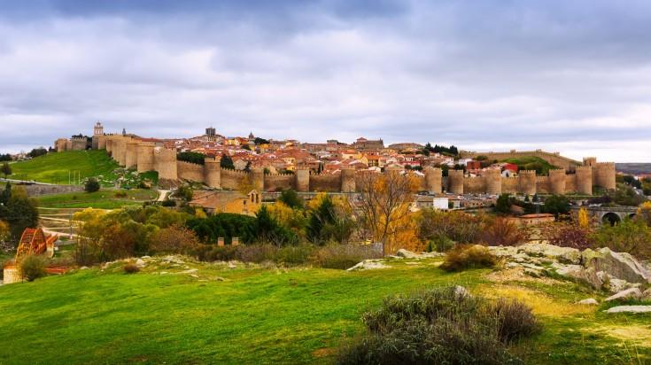 Madrid to Avila