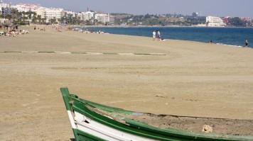 Estepona Beach in Malaga