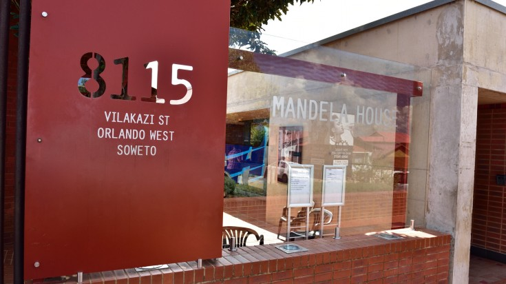 Mandela house is a house where Nelson Mandela live from 1946-1962.