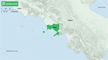 An overview map of Naples