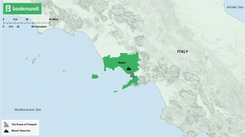 An overview map of Naples.
