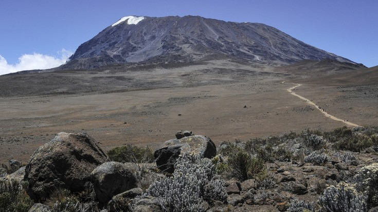 Views from Marangu Route, Kilimanjaro National Park