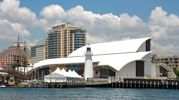 The Maritime Museum in Sydney is a great place to go to learn about marines