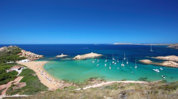 Menorca Island in Balearic Islands