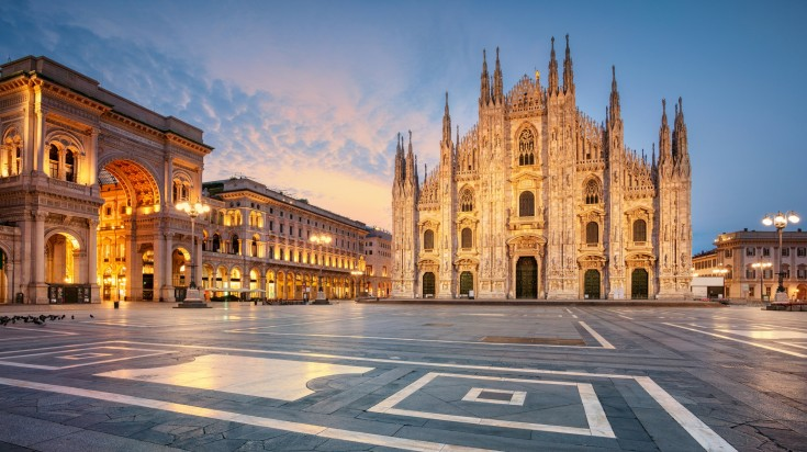 Milan Cathedral is one of the greatest architecture in the world making it one of the best places to visit in Italy.