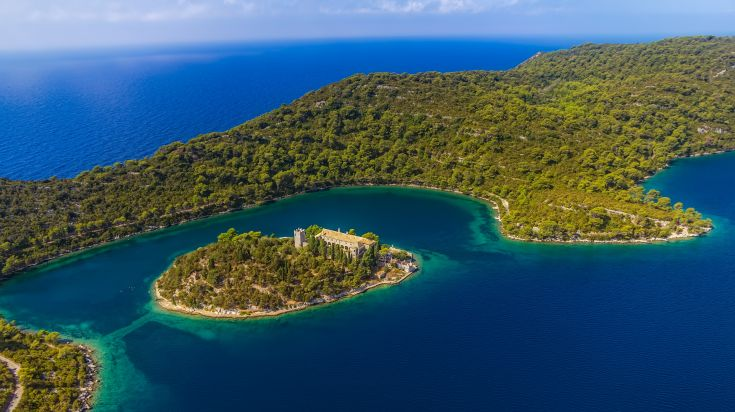 Mljet, a rich emerald green paradise just south of the Peljesac peninsula