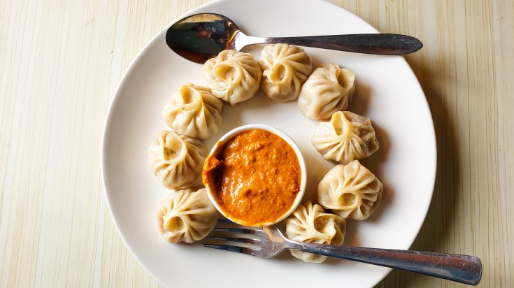 Savoury, Steamed Nepalese dumplings in the best thing to try in Nepal