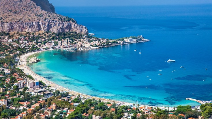 Best beaches in Sicily, speak of one and Mondello tops the list.