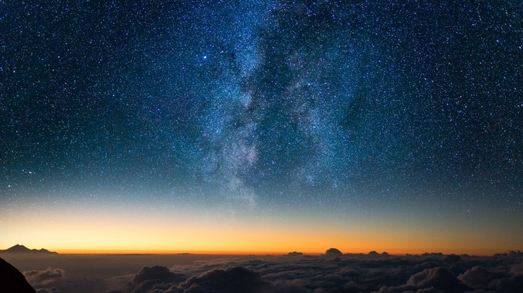 You might even see the Milkyway on a Mount Agung hike