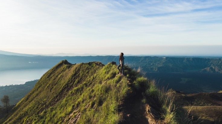 Mount Batur hike provides exquisite views of Bali