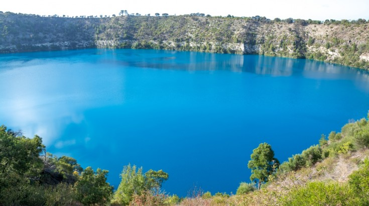 Mount Gambier is one of Southern Australia's most populous cities.