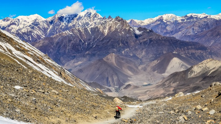 Annapurna Circuit mountain biking