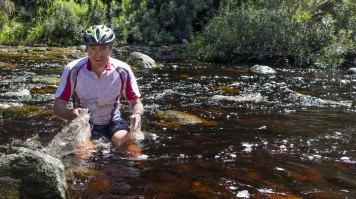 Mountain biking in Garden Route national Park
