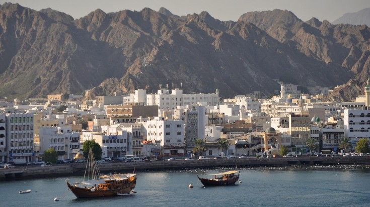 Harbor at Muscat