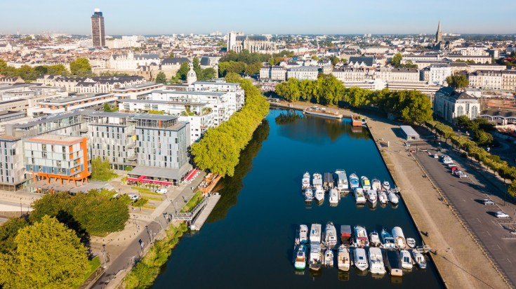 Located in the western part of France, Nantes is a dynamic city.