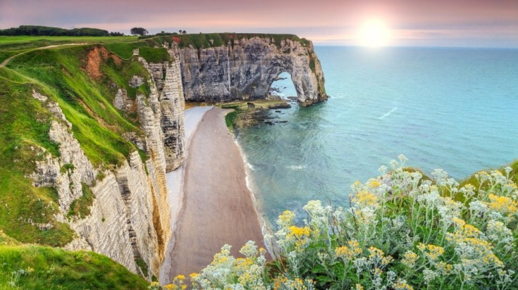 Normandy in the north-west of France is a stunning stretch of beaches