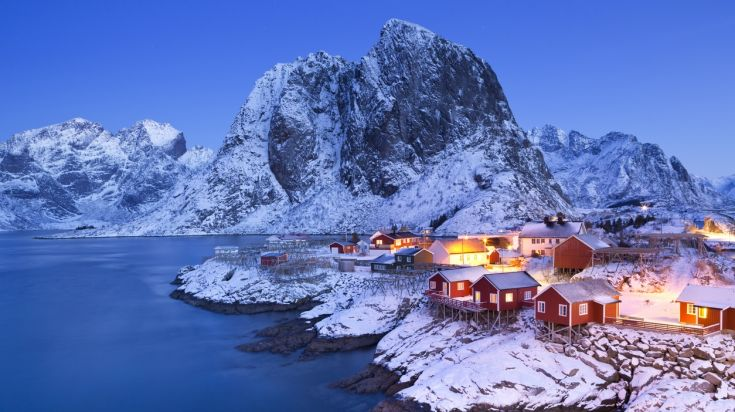 Winter season is not the best time to visit Norway