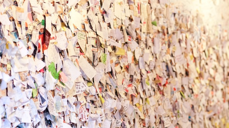 One of the fun things to do in Italy is to leave on note on Juliet's wall in Verona.
