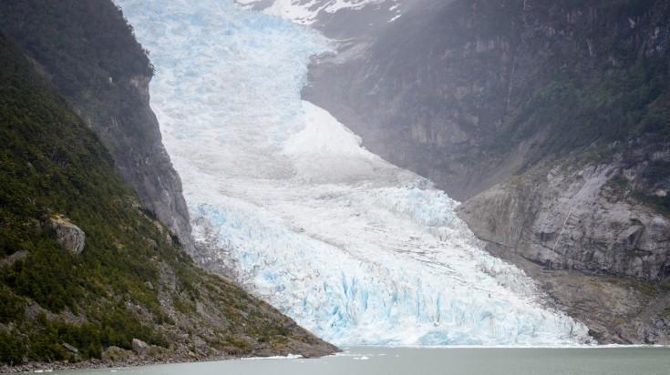 O'Higgins Glacier in Patagonia