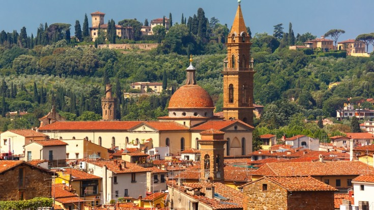 Oltrarno is a quarter part of Florence and holds many important sites.