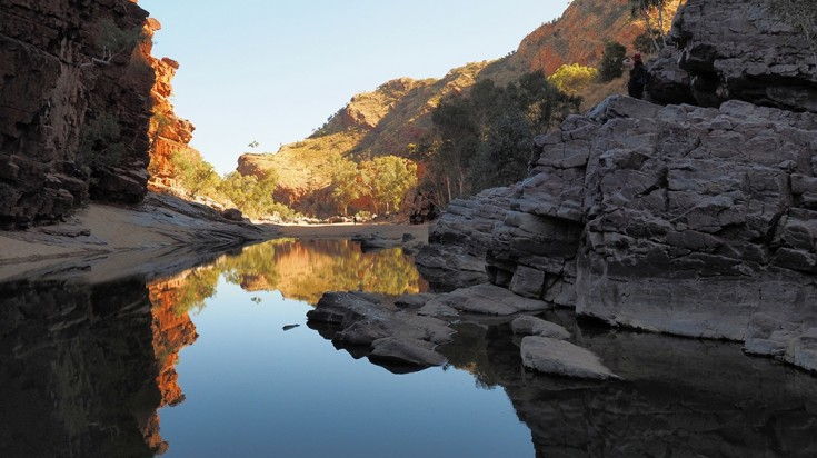Ormiston Gorge in MacDonnell Ranges