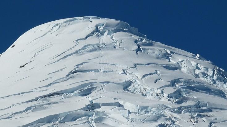 Climbing Osorno Volcano