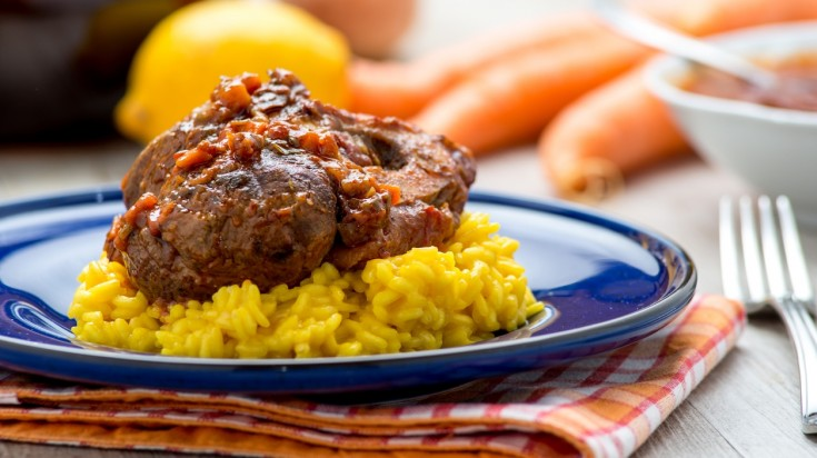 Italian food, speaking of which—Ossobuco is a must mention.