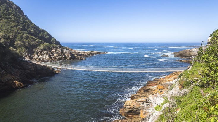 Storms River Mouth on the Otter Trail