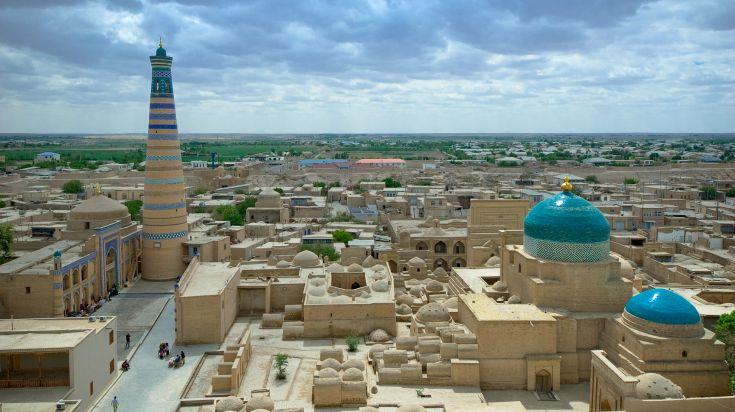 Islam Khoja complex, Khiva