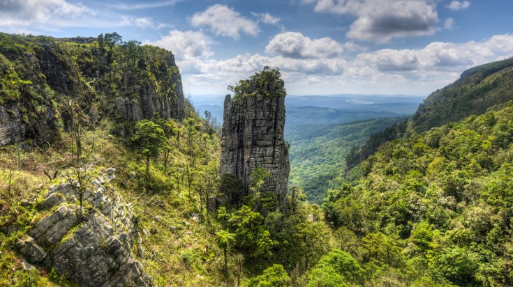 Pinnacle Rock in Panorama Route, Mpumalanga
