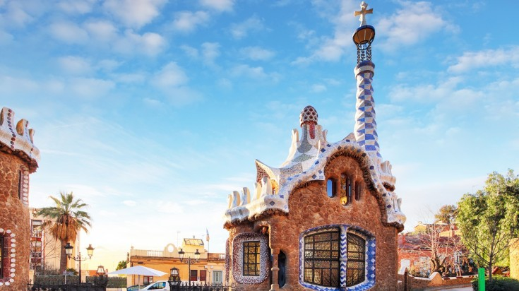 Park Guell Hansel and Gretel House