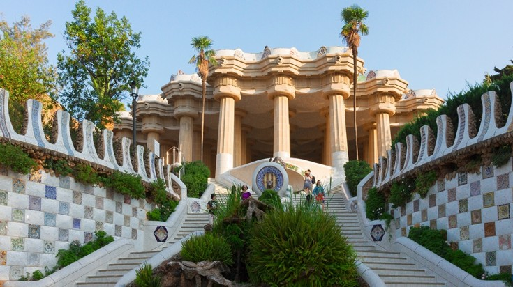 Park Guell Hypostyle Hall