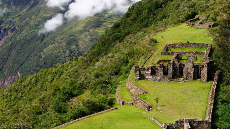 Choquequirao trek is considered one of the best treks in Peru
