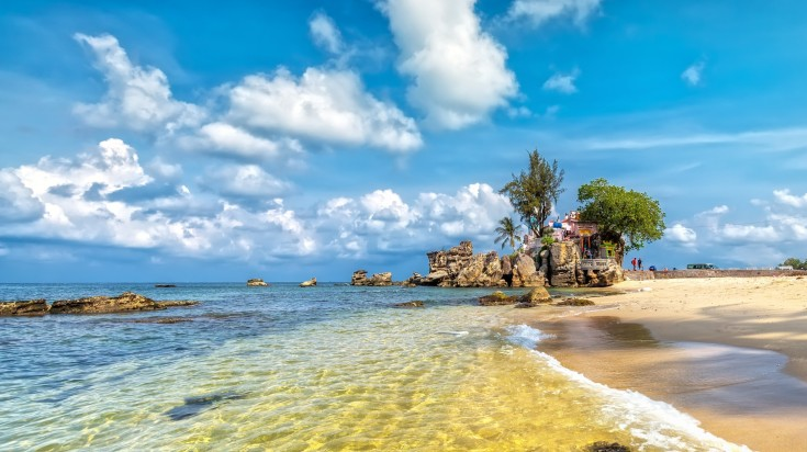 Phu Quoc Sea on a sunny day