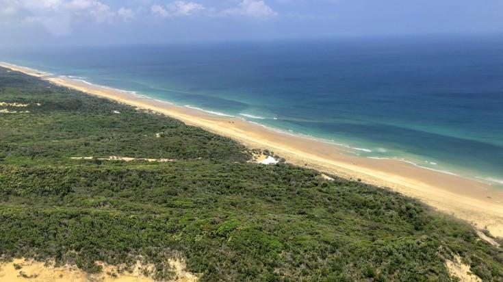 Places to visit in Australia Fraser Island near Brisbane.
