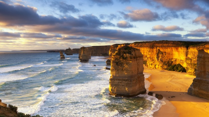 Twelve Apostles is one of the top places to visit in Australia